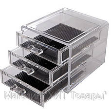 Косметичка Makeup Cosmetics Organizer Drawers Grids Display Storage Clear Acrylic, фото 3