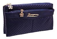 Стильный женский клатч B8807 blue