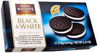 Печенье- сэндвич Feiny Biscuits Black & White (4x44г) 176г Австрия, фото 1