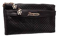 Стильный женский клатч B8807 black