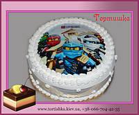 Детский торт Лего Ниндзяго