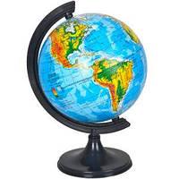 Глобус D110 мм украинский, физический (географический)