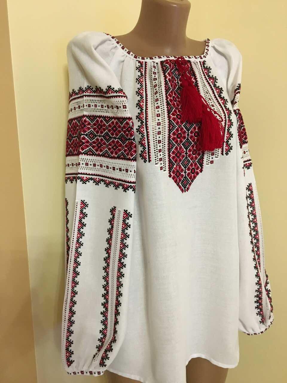Вишиванка жіноча ручної роботи на домотканному полотні  продажа ... a71bfd6def308