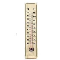 Комнатный термометр деревянный