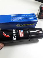 Газовый баллончик Police спецназ SWAT, 60мл. для  самообороны