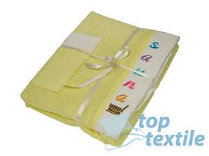 Набор для сауны женский Gursan yellow, фото 2