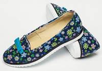 Балетки детские кожаные для девочки, летняя детская обувь от производителя модель ДЖ-4013