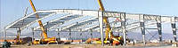 Монтаж вспомогательных быстромонтируемых зданий (БМЗ)