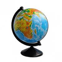 Глобус D220 мм украинский, физический (географический)