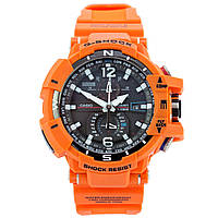 Мужские (женские) спортивные наручные часы Casio G-Shock GW-A1100 оранжевого цвета - AAA копия,полный комплект, фото 1