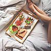 Новое поступление! Подносы на подушке и столики для завтрака