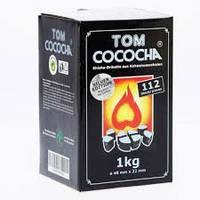 Кокосовый уголь TOM COCOCHA SILVER EDITION 1КГ (112 ШТ) без упаковки