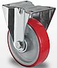 Колесо неповоротное 80 мм, роликовый подшипник (Германия)