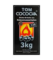 Кокосовый уголь TOM COCOCHA SILVER EDITION 3КГ (336 ШТ)