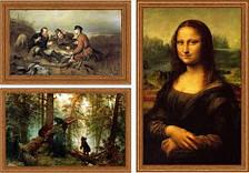 Репродукции картин на холсте