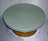 Столик поворотный кондитерский металл, фото 3