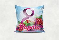 """Подушка """"8 марта"""" розы"""