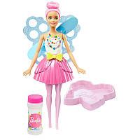 """Кукла Барби с пузырьками """"Фея"""" Barbie """"Dreamtopia"""" Bubbletastic Fairy"""