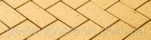Жовтий тротуарний клінкер