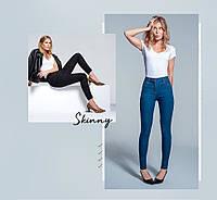 Женские джинсы GEORGE skinny джинсы с высокой посадкой ХЛ черные
