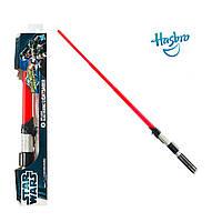 Электронный раскладной световой меч Дарта Вейдера (звук, свет) - Darth Vader, Star Wars, Hasbro
