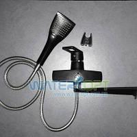 Смеситель для ванны черный Zerix Z2230-6, фото 1