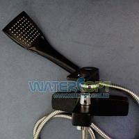 Смеситель для ванны черный Zerix Z3030-6, фото 1