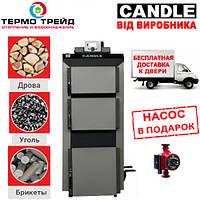 Котел длительного горения Candle Uni (Кендл Уни) 18 кВт