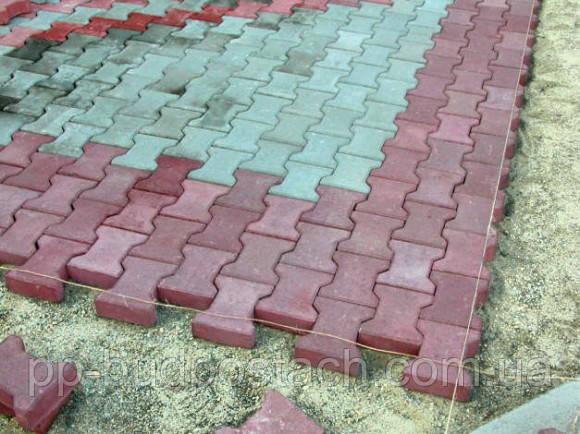 Технологія укладання тротуарної плитки