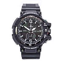 Мужские (женские) спортивные наручные часы Casio G-Shock GW-A1100 черного цвета - AAA копия,полный комплект