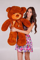 Медведь Тедди коричневый 80 см разные цвета (Подарки на 8 марта)
