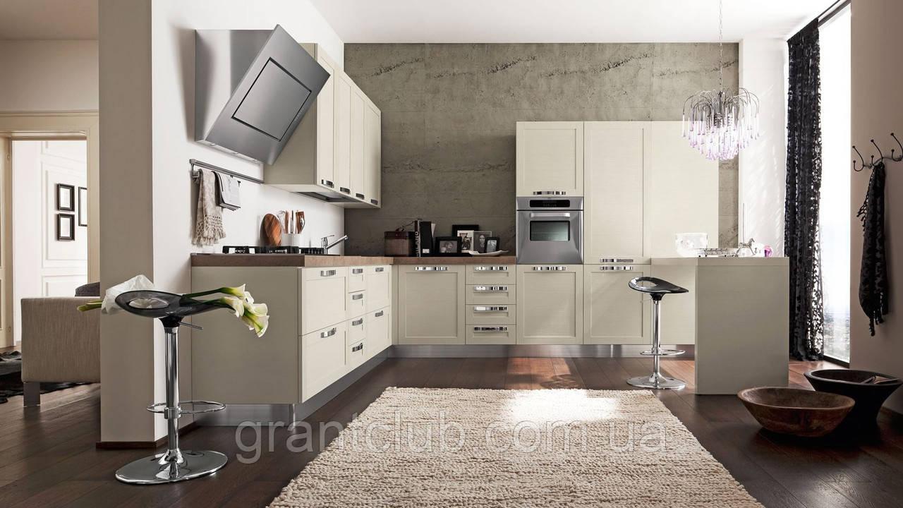 Современная кухня в цвете венге QUADRA фабрика EFFE QUATTRO (Италия)