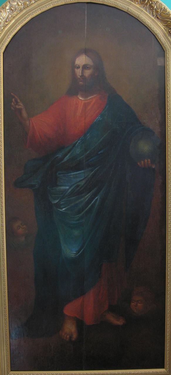Икона Спаситель мира конец 18 века
