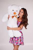 Медведь Тедди белый 140 см разные цвета (Подарки на 8 марта)