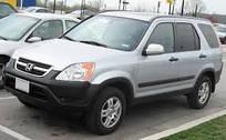 Автомобильные чехлы Honda CR-V 2-выпуск, 2001-2006