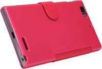 Чехол книжка Nillkin Lenovo K900 Fresh Series Leather Case (RED), фото 1