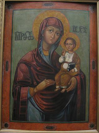 Икона Богоматерь Одигитрия  перв. треть 17-го века, фото 2