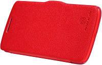 Чехол книжка Nillkin Lenovo S820 Fresh Series Leather Case (RED), фото 1