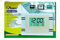 Многофункциональные часы с градусником Kenko KK-6869, Киев