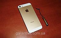 Iphone 5s (1 sim) айфон 5s в золотом и белом цвете + стилус!