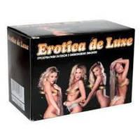 Презервативы Erotica De Luxe с точеной текстурой, Блок: 72 шт до 2019г.