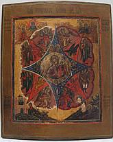 Икона Неопалимая купина   нач 19 века, фото 2
