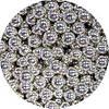 Шарики декоративные,серебро d 4-5мм. 10г/уп
