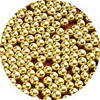 Шарики декоративные,золото 4мм 10г/уп
