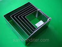 Набор квадратных форм-вырубок для бисквита и мастики, фото 1