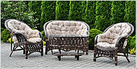 Комплект мебели из ротанга Copacabana light brown, фото 1