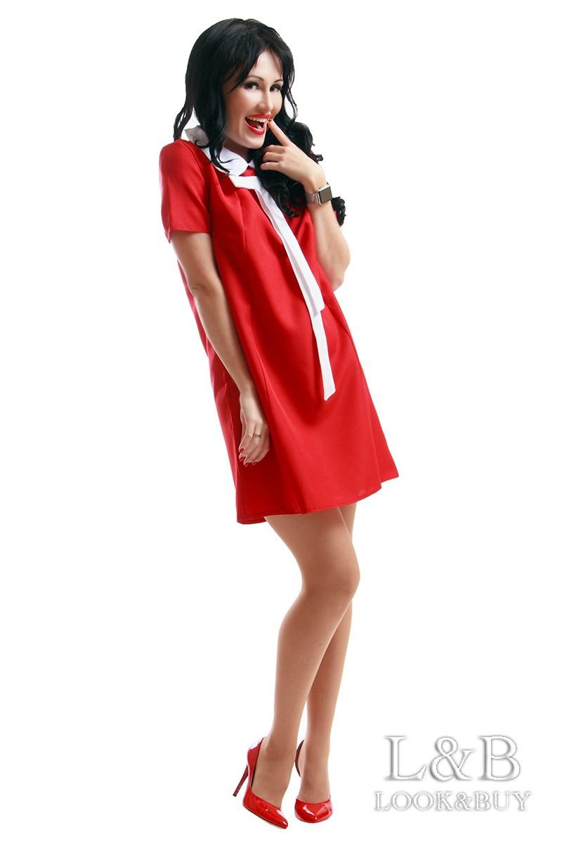 """Платье """"Margo"""" красный"""