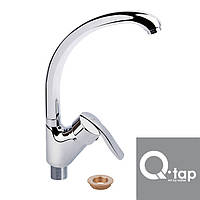 Смеситель для кухни Ухо на гайке Qtap Talis (Chr-011)