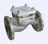 Клапан обратный фланцевый 16с10нж(п) Ду15-150 Ру16, фото 3