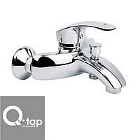 Смеситель для ванны короткий нос Qtap Mars (Chr-009)